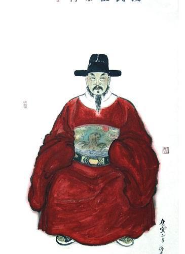 南渡殷氏族人为始祖秉常公征求赞联
